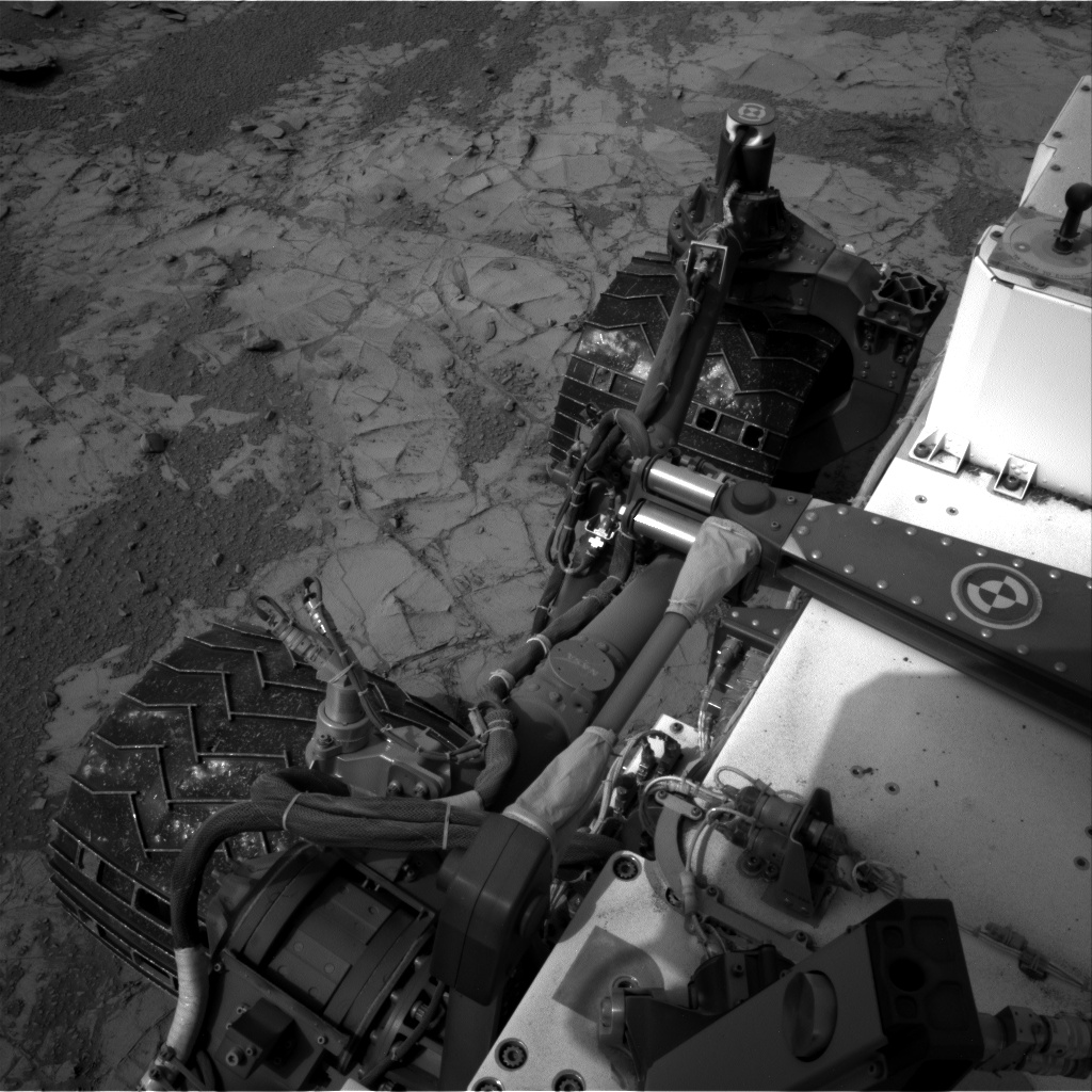 Nasa's Mars rover Curiosity acquired this image using its Right Navigation Camera on Sol 794, at drive 538, site number 44