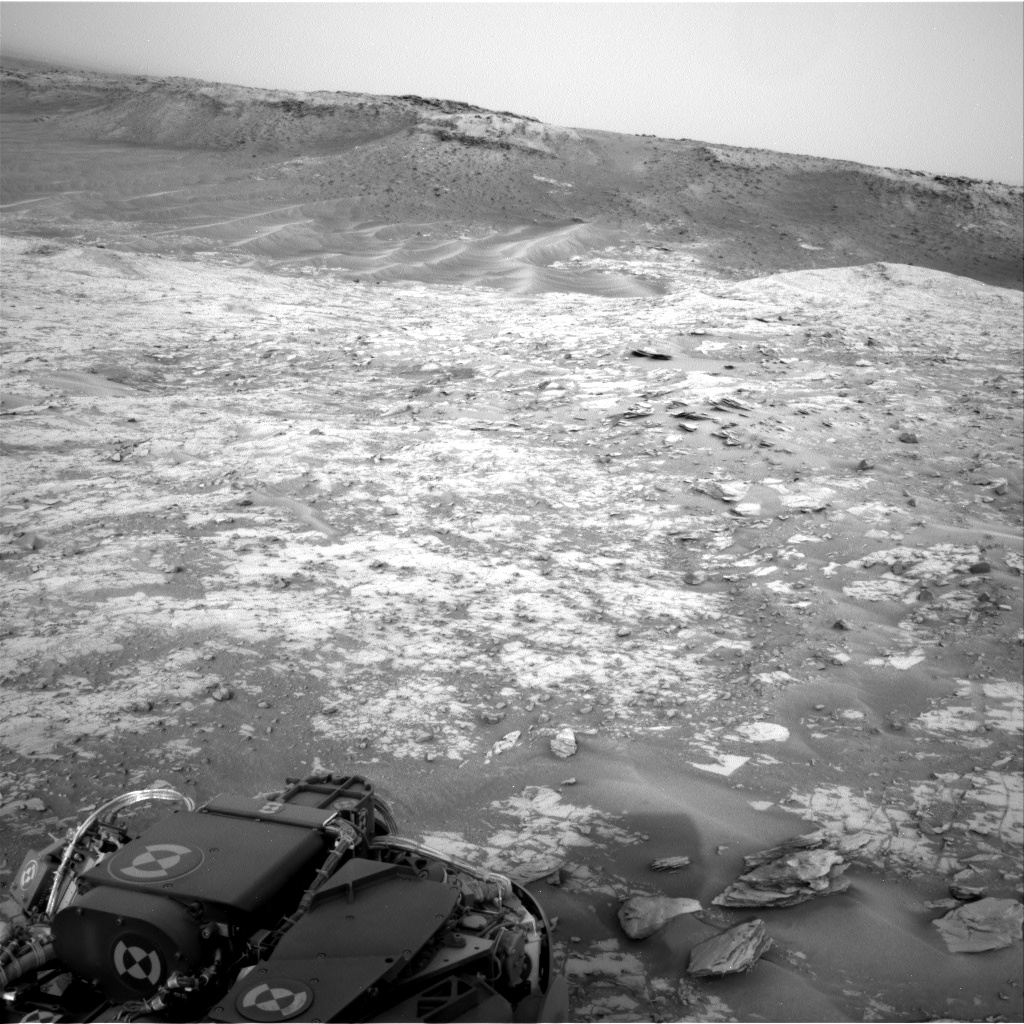 Nasa's Mars rover Curiosity acquired this image using its Right Navigation Camera on Sol 794, at drive 568, site number 44
