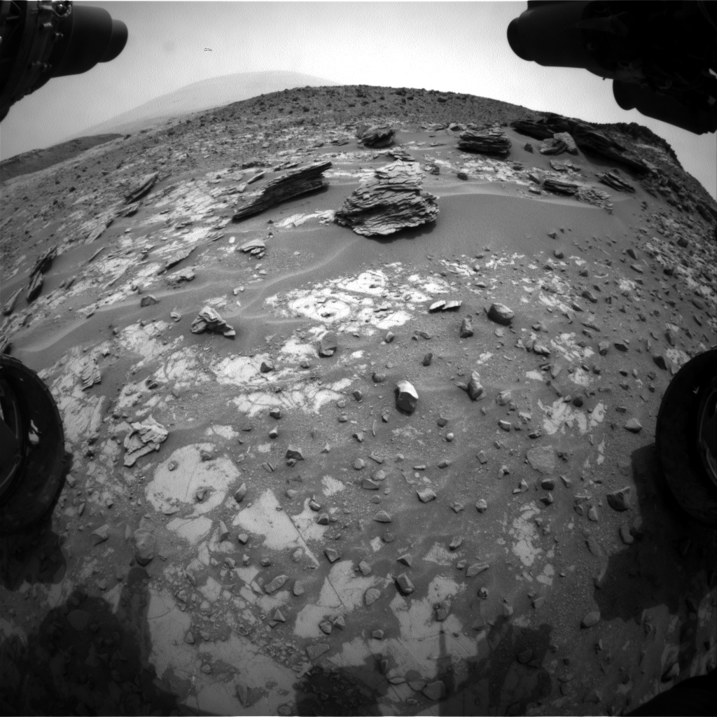 Nasa's Mars rover Curiosity acquired this image using its Front Hazard Avoidance Camera (Front Hazcam) on Sol 795, at drive 568, site number 44