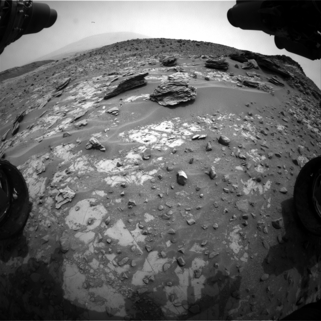 Nasa's Mars rover Curiosity acquired this image using its Front Hazard Avoidance Camera (Front Hazcam) on Sol 796, at drive 568, site number 44