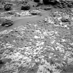 Nasa's Mars rover Curiosity acquired this image using its Left Navigation Camera on Sol 797, at drive 592, site number 44