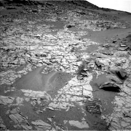 Nasa's Mars rover Curiosity acquired this image using its Left Navigation Camera on Sol 797, at drive 664, site number 44