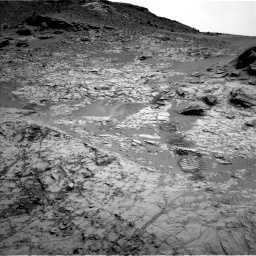 Nasa's Mars rover Curiosity acquired this image using its Left Navigation Camera on Sol 797, at drive 676, site number 44