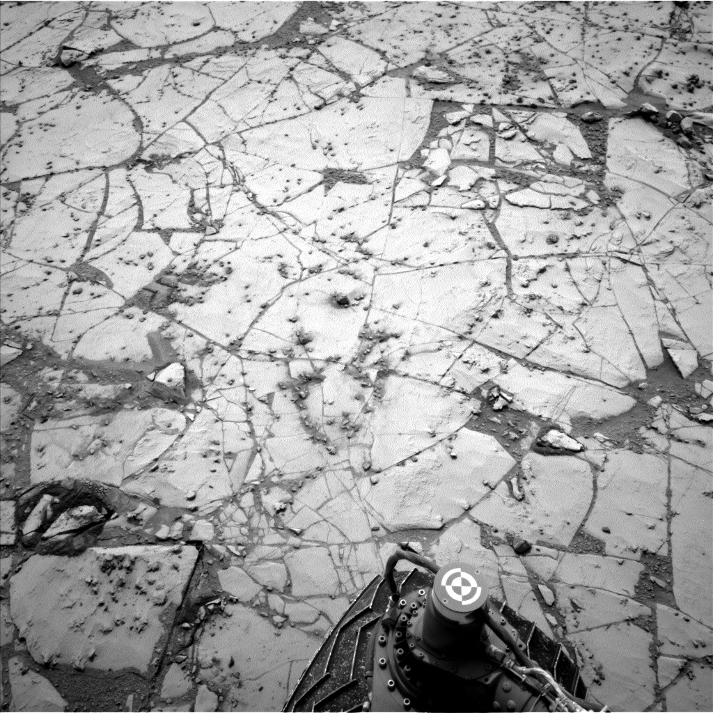 Nasa's Mars rover Curiosity acquired this image using its Left Navigation Camera on Sol 797, at drive 832, site number 44