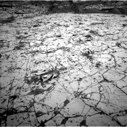 Nasa's Mars rover Curiosity acquired this image using its Left Navigation Camera on Sol 797, at drive 856, site number 44