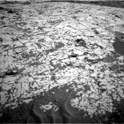 Nasa's Mars rover Curiosity acquired this image using its Left Navigation Camera on Sol 797, at drive 886, site number 44