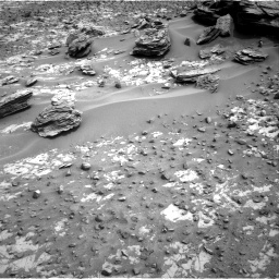 Nasa's Mars rover Curiosity acquired this image using its Right Navigation Camera on Sol 797, at drive 580, site number 44