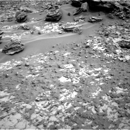 Nasa's Mars rover Curiosity acquired this image using its Right Navigation Camera on Sol 797, at drive 586, site number 44