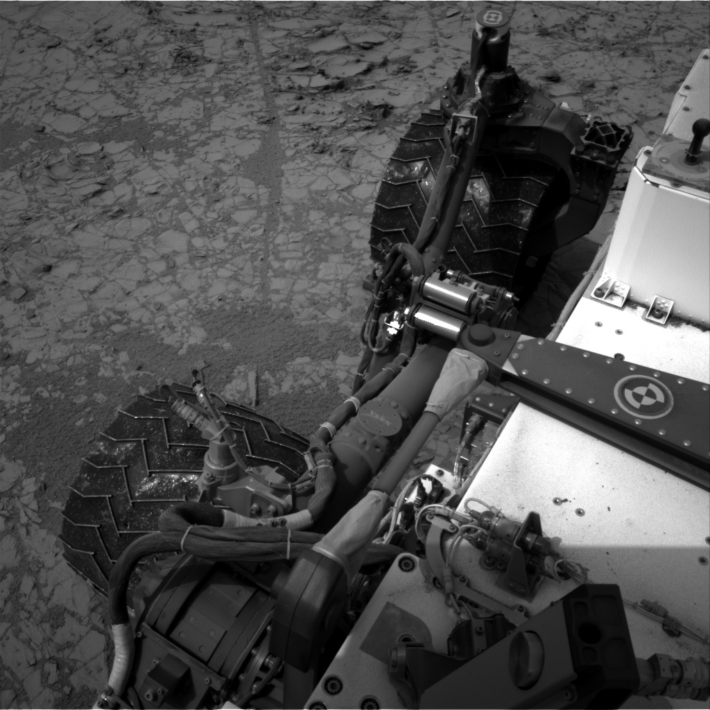 Nasa's Mars rover Curiosity acquired this image using its Right Navigation Camera on Sol 797, at drive 652, site number 44