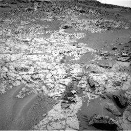Nasa's Mars rover Curiosity acquired this image using its Right Navigation Camera on Sol 797, at drive 658, site number 44