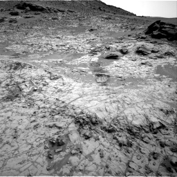 Nasa's Mars rover Curiosity acquired this image using its Right Navigation Camera on Sol 797, at drive 682, site number 44