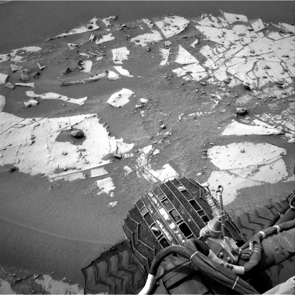 Nasa's Mars rover Curiosity acquired this image using its Right Navigation Camera on Sol 797, at drive 712, site number 44