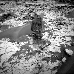Nasa's Mars rover Curiosity acquired this image using its Right Navigation Camera on Sol 797, at drive 724, site number 44
