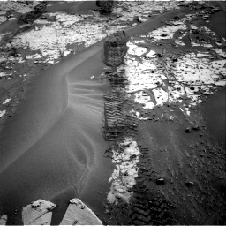 Nasa's Mars rover Curiosity acquired this image using its Right Navigation Camera on Sol 797, at drive 760, site number 44