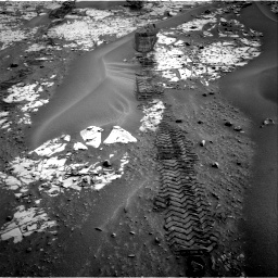 Nasa's Mars rover Curiosity acquired this image using its Right Navigation Camera on Sol 797, at drive 772, site number 44