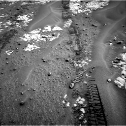 Nasa's Mars rover Curiosity acquired this image using its Right Navigation Camera on Sol 797, at drive 784, site number 44