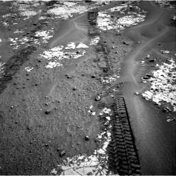 Nasa's Mars rover Curiosity acquired this image using its Right Navigation Camera on Sol 797, at drive 790, site number 44