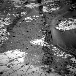 Nasa's Mars rover Curiosity acquired this image using its Right Navigation Camera on Sol 797, at drive 802, site number 44