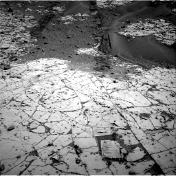 Nasa's Mars rover Curiosity acquired this image using its Right Navigation Camera on Sol 797, at drive 814, site number 44