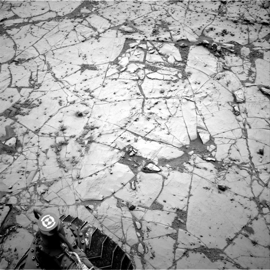 Nasa's Mars rover Curiosity acquired this image using its Right Navigation Camera on Sol 797, at drive 832, site number 44