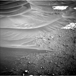 Nasa's Mars rover Curiosity acquired this image using its Left Navigation Camera on Sol 799, at drive 956, site number 44