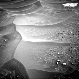 Nasa's Mars rover Curiosity acquired this image using its Left Navigation Camera on Sol 799, at drive 962, site number 44