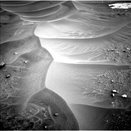 Nasa's Mars rover Curiosity acquired this image using its Left Navigation Camera on Sol 799, at drive 968, site number 44