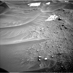 Nasa's Mars rover Curiosity acquired this image using its Left Navigation Camera on Sol 799, at drive 974, site number 44