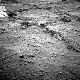 Nasa's Mars rover Curiosity acquired this image using its Left Navigation Camera on Sol 799, at drive 1028, site number 44