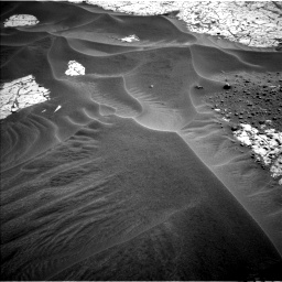 Nasa's Mars rover Curiosity acquired this image using its Left Navigation Camera on Sol 799, at drive 1098, site number 44