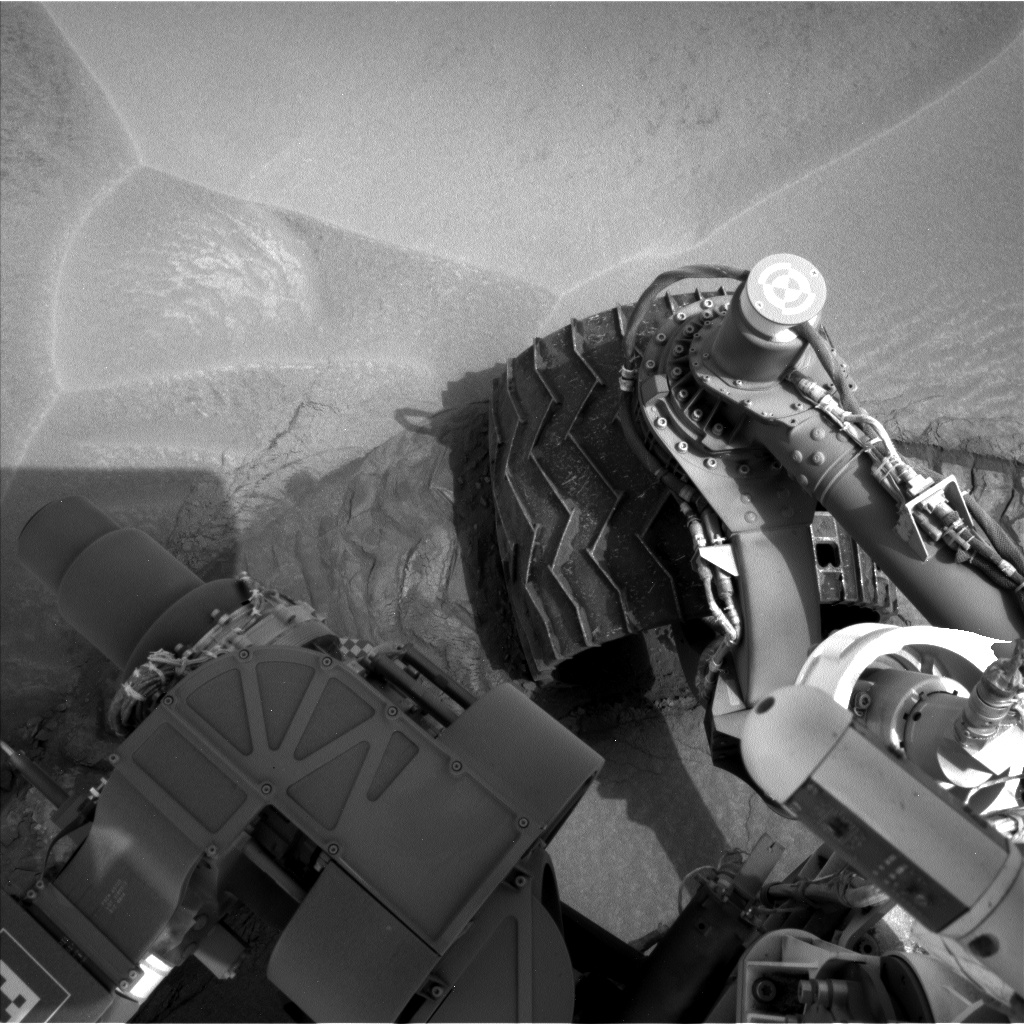 Nasa's Mars rover Curiosity acquired this image using its Left Navigation Camera on Sol 799, at drive 1110, site number 44