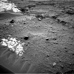Nasa's Mars rover Curiosity acquired this image using its Left Navigation Camera on Sol 799, at drive 1128, site number 44