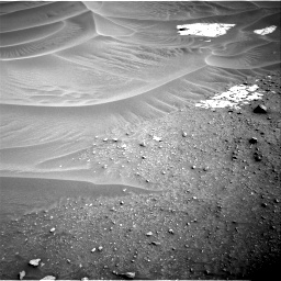 Nasa's Mars rover Curiosity acquired this image using its Right Navigation Camera on Sol 799, at drive 956, site number 44
