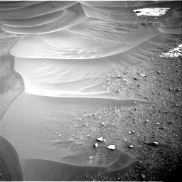 Nasa's Mars rover Curiosity acquired this image using its Right Navigation Camera on Sol 799, at drive 962, site number 44