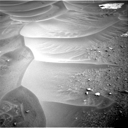 Nasa's Mars rover Curiosity acquired this image using its Right Navigation Camera on Sol 799, at drive 968, site number 44