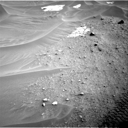 Nasa's Mars rover Curiosity acquired this image using its Right Navigation Camera on Sol 799, at drive 974, site number 44