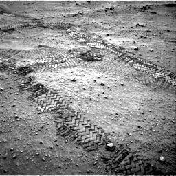 Nasa's Mars rover Curiosity acquired this image using its Right Navigation Camera on Sol 799, at drive 1022, site number 44