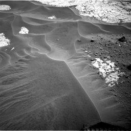 Nasa's Mars rover Curiosity acquired this image using its Right Navigation Camera on Sol 799, at drive 1110, site number 44