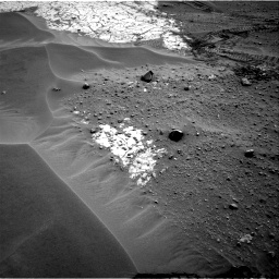 Nasa's Mars rover Curiosity acquired this image using its Right Navigation Camera on Sol 799, at drive 1116, site number 44