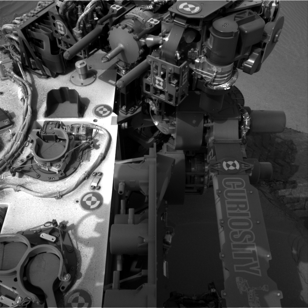 Nasa's Mars rover Curiosity acquired this image using its Right Navigation Camera on Sol 799, at drive 1140, site number 44