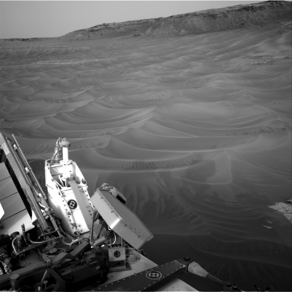 Nasa's Mars rover Curiosity acquired this image using its Right Navigation Camera on Sol 803, at drive 1282, site number 44