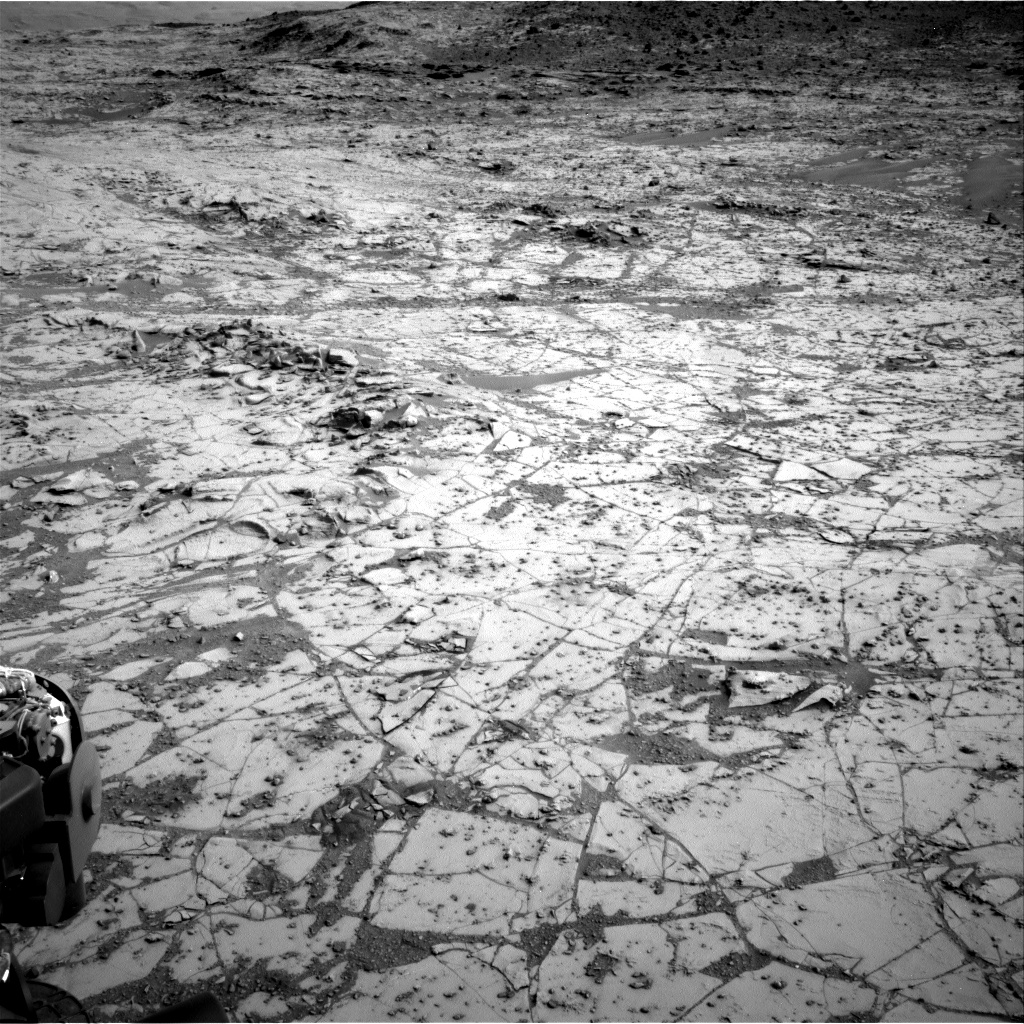 Nasa's Mars rover Curiosity acquired this image using its Right Navigation Camera on Sol 807, at drive 1336, site number 44