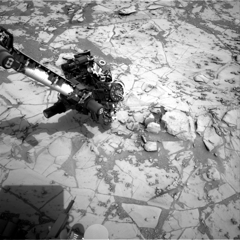 Nasa's Mars rover Curiosity acquired this image using its Right Navigation Camera on Sol 809, at drive 1432, site number 44