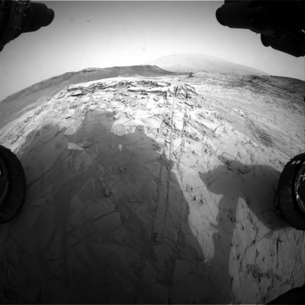 Nasa's Mars rover Curiosity acquired this image using its Front Hazard Avoidance Camera (Front Hazcam) on Sol 812, at drive 1546, site number 44