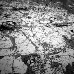 Nasa's Mars rover Curiosity acquired this image using its Left Navigation Camera on Sol 812, at drive 1498, site number 44