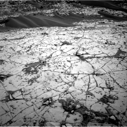 Nasa's Mars rover Curiosity acquired this image using its Right Navigation Camera on Sol 812, at drive 1450, site number 44