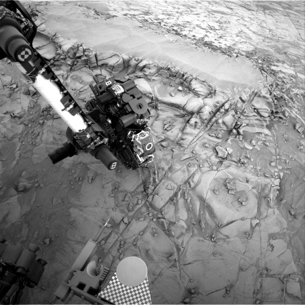 Nasa's Mars rover Curiosity acquired this image using its Right Navigation Camera on Sol 813, at drive 1546, site number 44