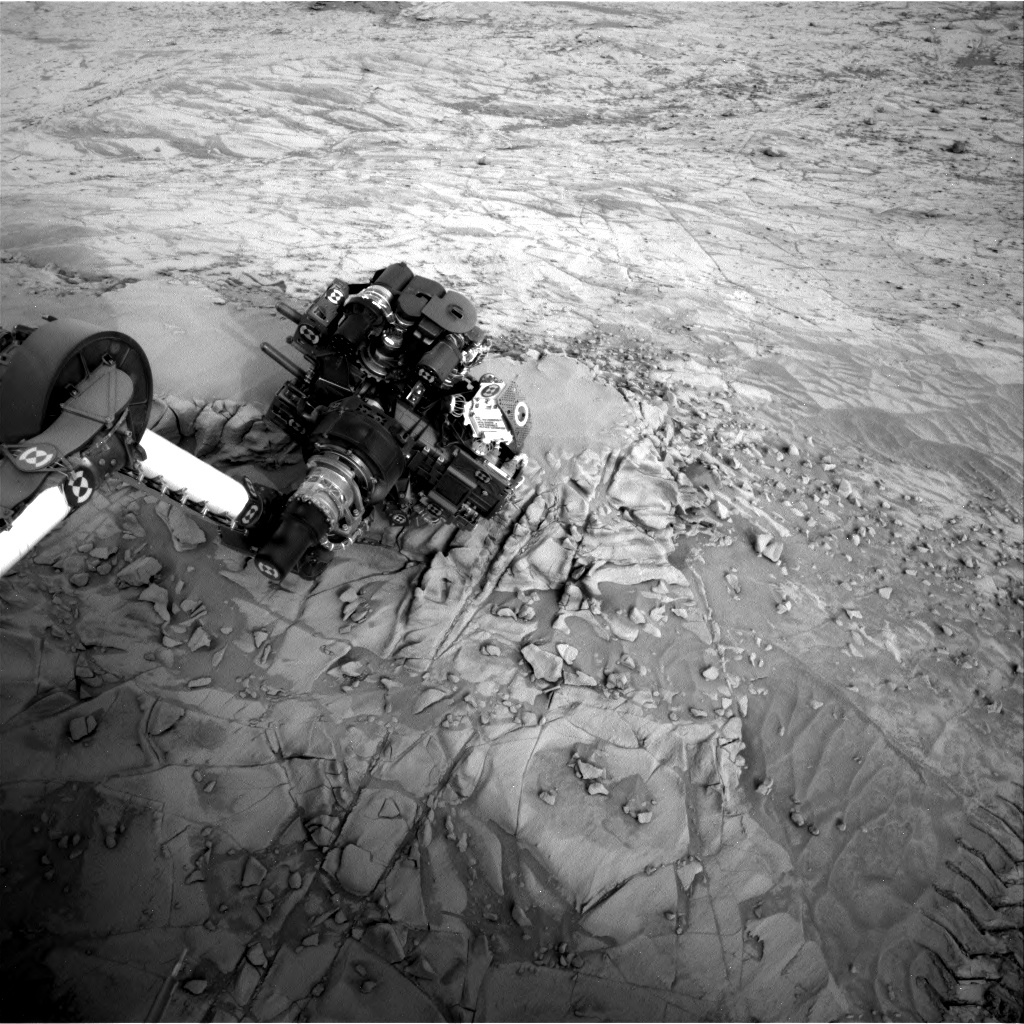 Nasa's Mars rover Curiosity acquired this image using its Right Navigation Camera on Sol 814, at drive 1546, site number 44