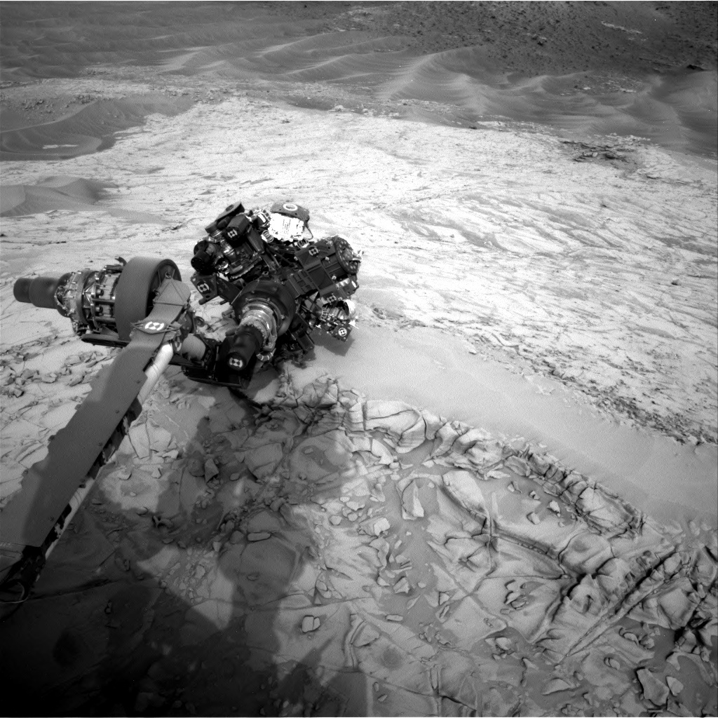 Curiosity's are extended to analyze Topanga