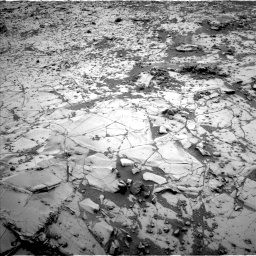 Nasa's Mars rover Curiosity acquired this image using its Left Navigation Camera on Sol 817, at drive 1564, site number 44